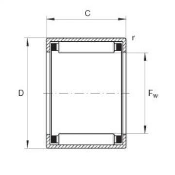 FAG Buchas de agulhas - HK0509