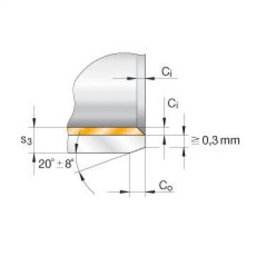FAG Buchas flangeadas - EGF06080-E40