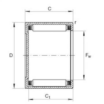FAG Buchas de agulhas - BK0808