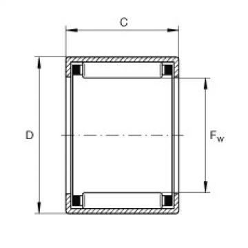 FAG Buchas de agulhas - SCE55
