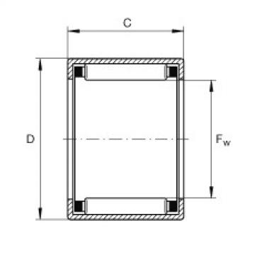 FAG Buchas de agulhas - SCE78