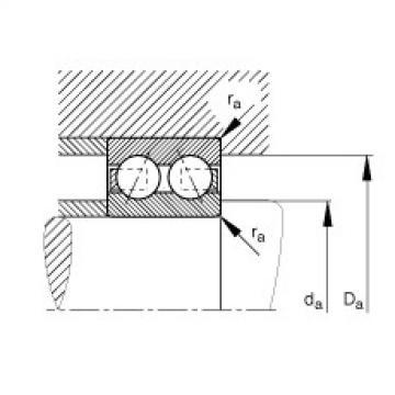 FAG Rolamento angular - 30/6-B-TVH