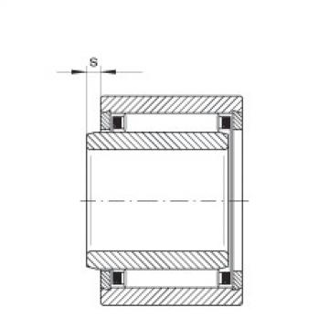 FAG Rolamento de agulhas - NKI6/12-TV-XL