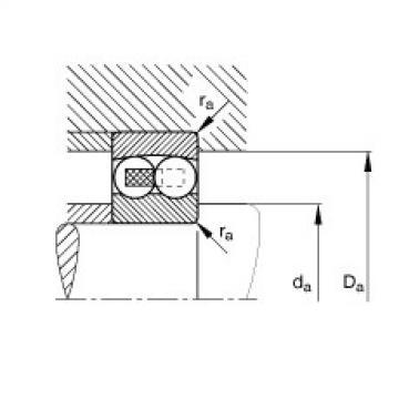 FAG Rolamento autocompensador de esferas - 127-TVH