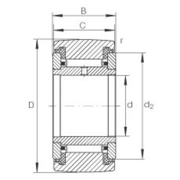 FAG Rolos de apoio - NATR10-PP