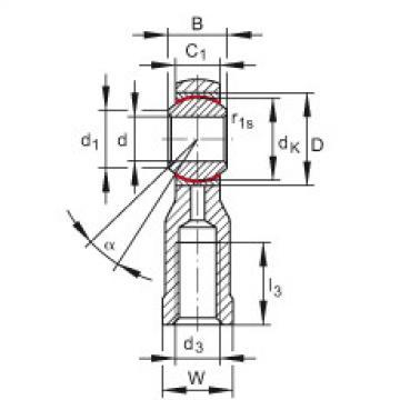 FAG Cabeças articuladas - GIKSL10-PS