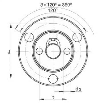 FAG Rolamentos axiais de agulhas de contato angular - ZAXFM0835