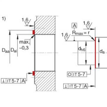FAG Unidades de rolamento de esfera de contato angular - ZKLR0828-2Z
