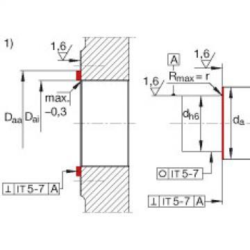 FAG Unidades de rolamento de esfera de contato angular - ZKLR1035-2Z