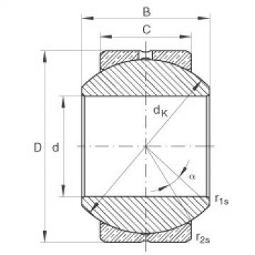 FAG Rótulas radiais - GE10-PB