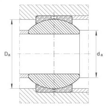 FAG Rótulas radiais - GE8-PB