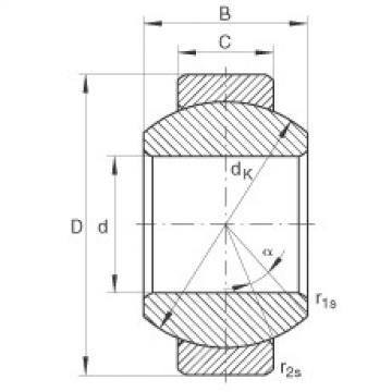 FAG Rótulas radiais - GE10-FO