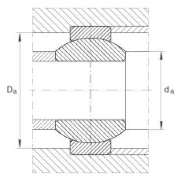 FAG Rótulas radiais - GE12-FO