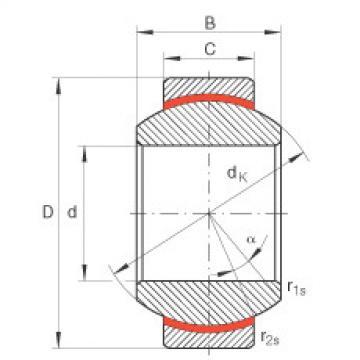 FAG Rótulas radiais - GE10-FW