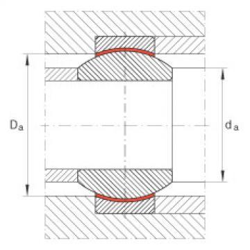 FAG Rótulas radiais - GE8-FW