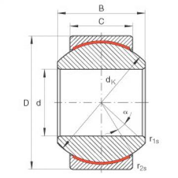 FAG Rótulas radiais - GE12-PW