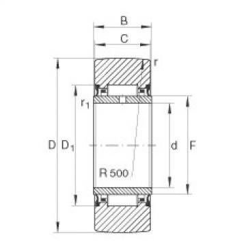 FAG Rolos de apoio - NA22/6-2RSR
