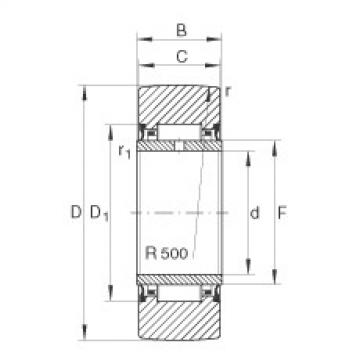 FAG Rolos de apoio - NA22/8-2RSR