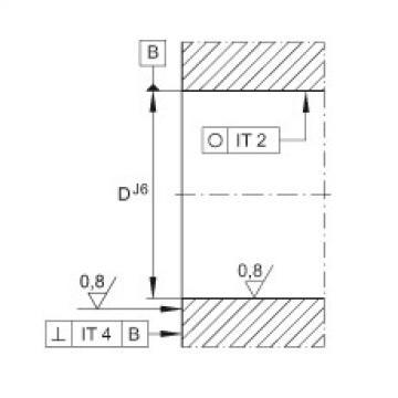 FAG Unidades de rolamento de esfera de contato angular - ZKLFA0640-2Z