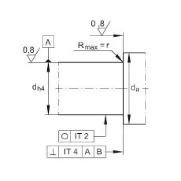 FAG Unidades de rolamento de esfera de contato angular - ZKLFA0850-2RS