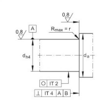 FAG Rolamento axial de esferas de contato angular - ZKLN0624-2RS-XL