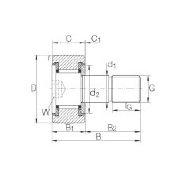 FAG Rolos de leva - KR16-SK-PP