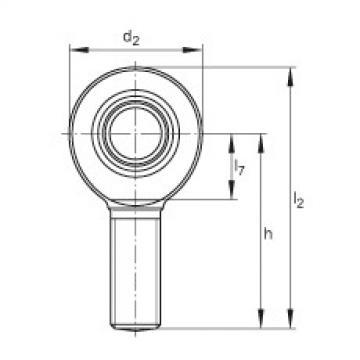 FAG Cabeças articuladas - GAL10-DO