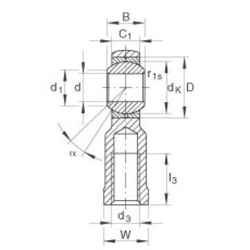 FAG Cabeças articuladas - GIKL10-PB