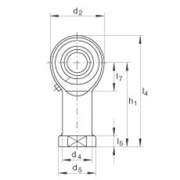 FAG Cabeças articuladas - GIKL8-PB