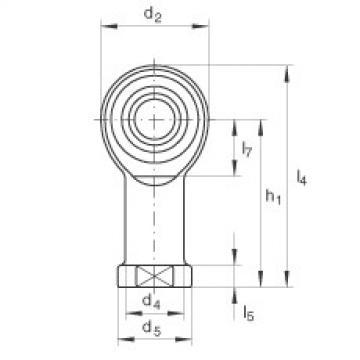 FAG Cabeças articuladas - GIKL6-PW