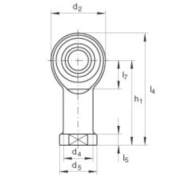 FAG Cabeças articuladas - GIKR8-PW