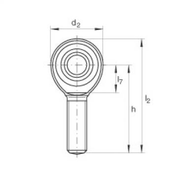 FAG Cabeças articuladas - GAKR10-PW