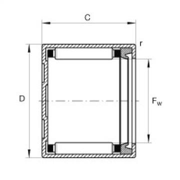 FAG Buchas de agulhas - BCH79-P