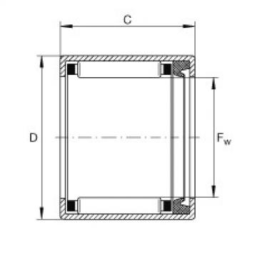 FAG Buchas de agulhas - SCE58-P