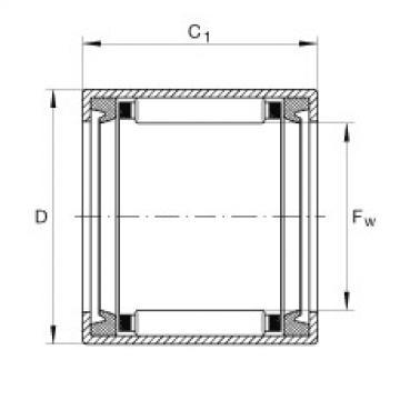 FAG Buchas de agulhas - SCE49-PP