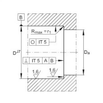 FAG Rolamento axial de esferas de contato angular - ZKLN1034-2RS-PE