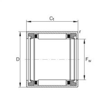 FAG Buchas de agulhas - HK1012-2RS