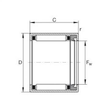 FAG Buchas de agulhas - HK0812-RS