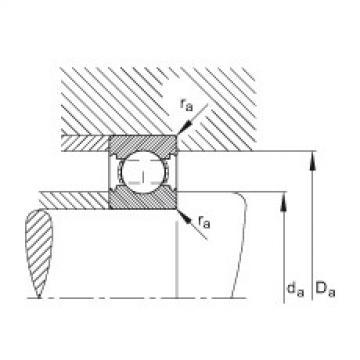 FAG Rolamento de esferas - 6200-C
