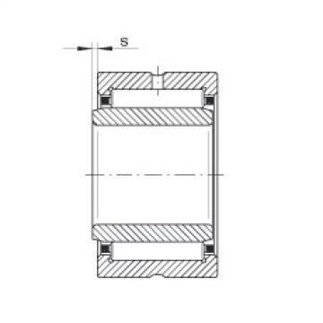 FAG Rolamento de agulhas - NKI9/16-XL
