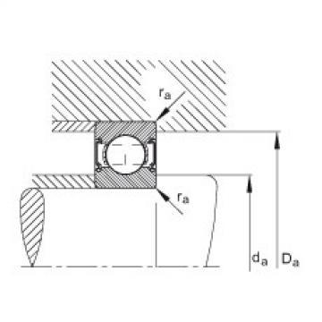 FAG Rolamento de esferas - 6000-C-2Z