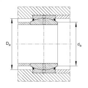 FAG Rótulas radiais - GE12-DO