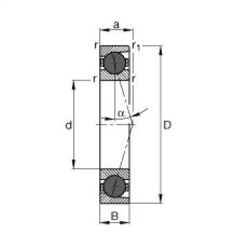 FAG Mancais do fuso - HCB7000-C-T-P4S
