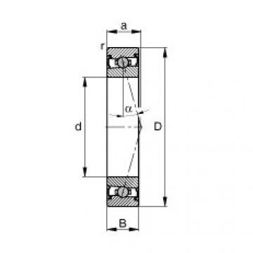 FAG Mancais do fuso - HCS71900-C-T-P4S
