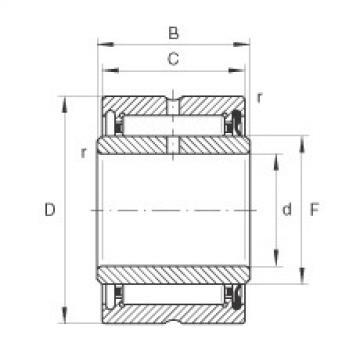 FAG Rolamento de agulhas - NA4901-RSR-XL