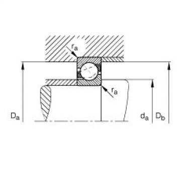 FAG Rolamento angular - 7200-B-XL-TVP