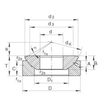 FAG Rótulas axiais - GE10-AX