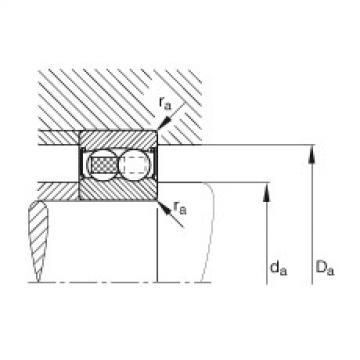 FAG Rolamento autocompensador de esferas - 2200-2RS-TVH
