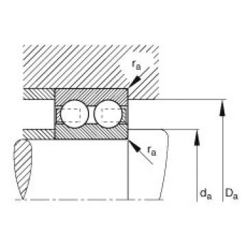 FAG Rolamento de esferas - 4200-B-TVH