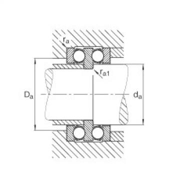 FAG Rolamento axial de esferas - 52314